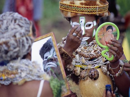 Племя Папуа Новой Гвинеи