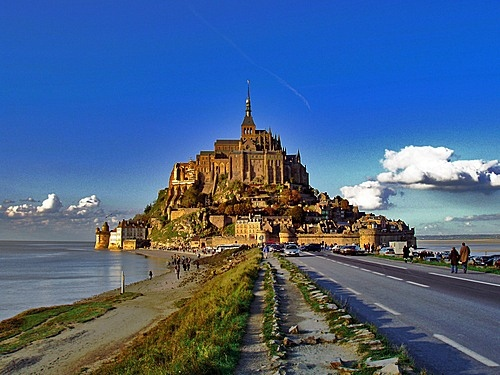 Залив Mont St Michel