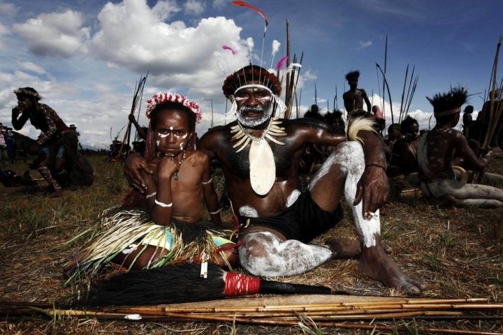 Фестиваль Синг-Синг в Папуа Новой Гвинее