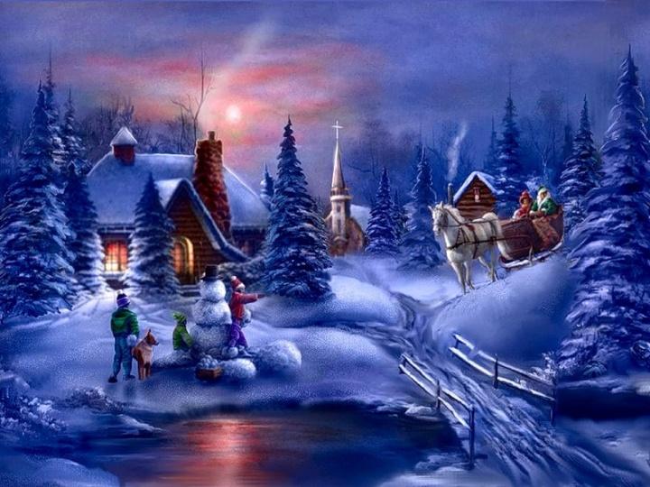 Где лучше всего встретить Рождество