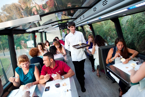 Гастрономические автобусы Барселоны