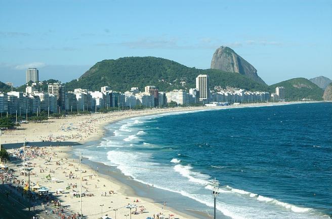 Пляж Copacabana