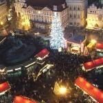 Новый год на Староместской площади