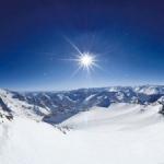 Снег на альпийских курортах