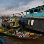 Плавучие рынки Вьетнама