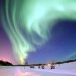 Финляндию в новогоднюю ночь озарит искусственное северное сияние