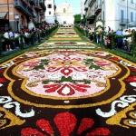 Цветочные ковры Италии