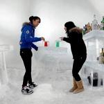 На острове Хоккайдо открылся ледяной отель